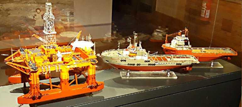 Буровая морская платформа