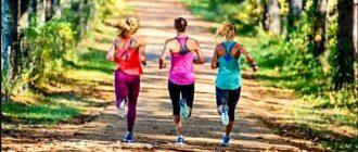 девушки тренируют выносливость организма