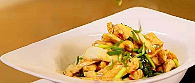 пак-чой — курица с овощами