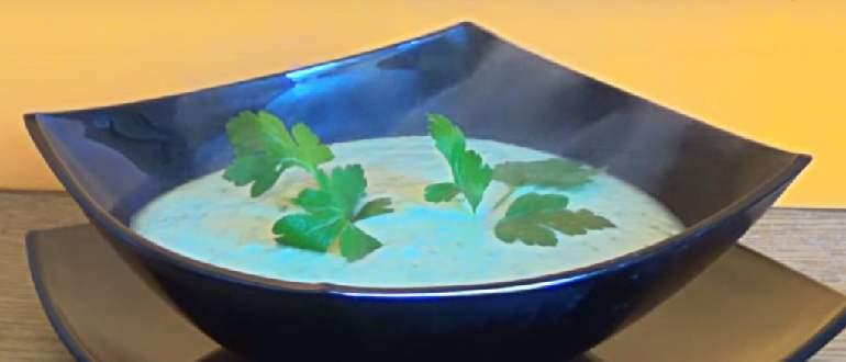 пюре-суп из кольраби