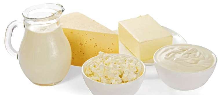 молоко, сыр, йогурт